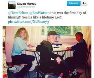 Devon Murray, draco malfoy, and magical image