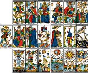 cards, destiny, and marseille image