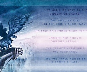 prophecy and percy jackson image