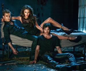 the vampire diaries, ian somerhalder, and elena image