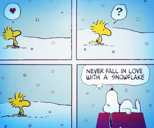 snoopy and snow image