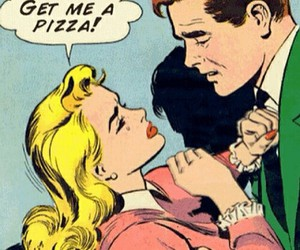 comics, high, and couple image