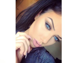 beautiful, blueeyes, and girl image