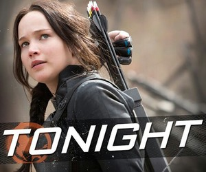 the hunger games, tonight, and katniss everdeen image