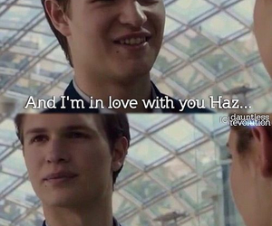 divergent, tfios, and the fault in our stars image