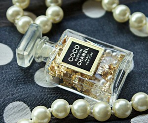 chanel, coco, and pearls image