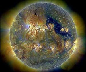 planets, solar, and sun image