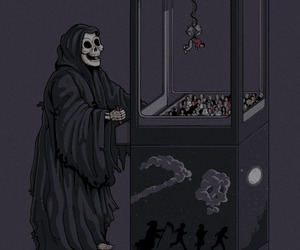 death, game, and dead image