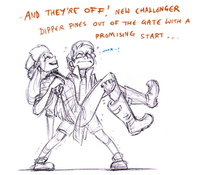 lol, dipper, and wendy image