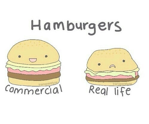 hamburger, food, and funny image