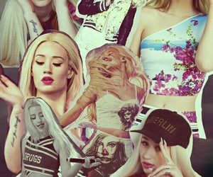 beauty, Collage, and Iggy image