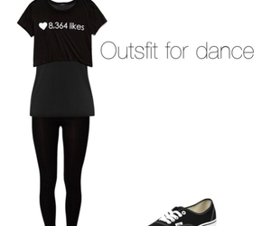 dance, fashion, and Polyvore image
