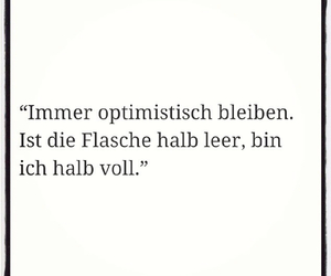 funny, german quote, and optimistisch image