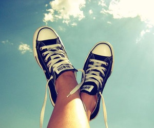 blue, converse, and girls image