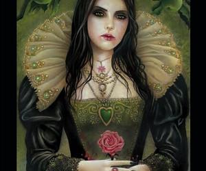 dark, the empress, and tarot image