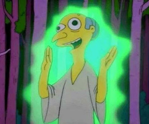 simpsons, the simpsons, and alien image