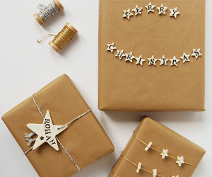 diy, gift wrapping, and cornstach image