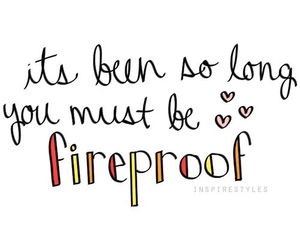 Lyrics, fireproof, and one direction image