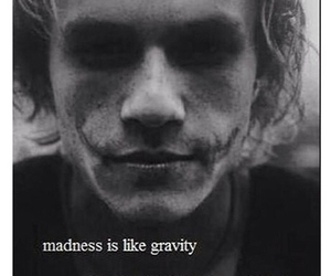 quotes, madness, and heath ledger image