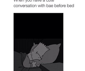 love, bae, and conversation image
