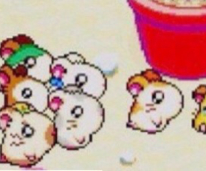 hamtaro and header image