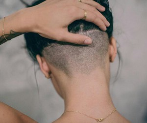 hair, hand, and model image