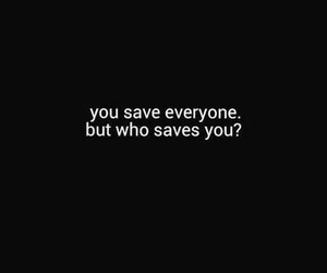 quotes, save, and sad image