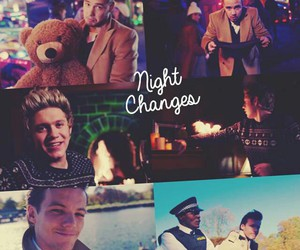 night changes, one direction, and zayn malik image