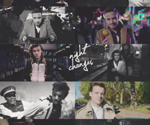one direction, night changes, and Harry Styles image