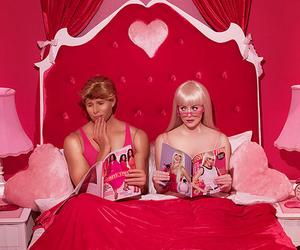 barbie, ken, and pink image