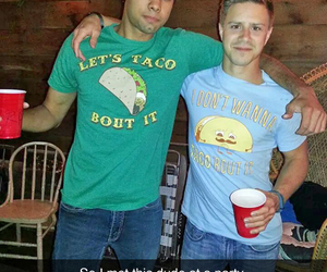 funny, tacos, and party image