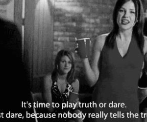 black and white, quote, and brooke davis image