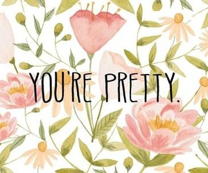 pretty, flowers, and quote image