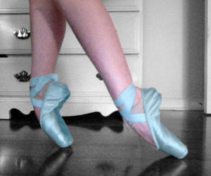 pale, pretty, and ballet image