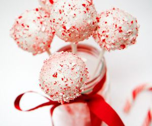 cake pops, christmas, and peppermint image