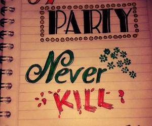 journal, Lyrics, and party image