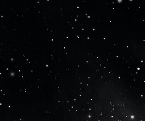 black and white, stars, and tumblr image