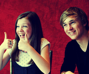 william moseley and georgie henley image