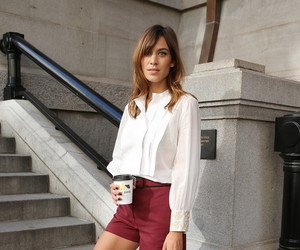 alexa chung, outfit, and clothes image