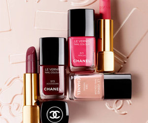 chanel, cosmetics, and lipstick image