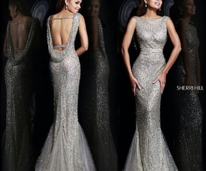 dress, fashion, and mermaid image