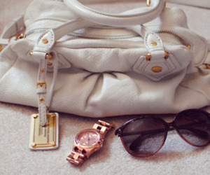 bag, sunglasses, and cute image