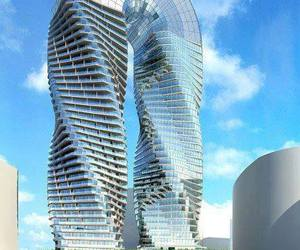 abu dhabi and dna towers project image