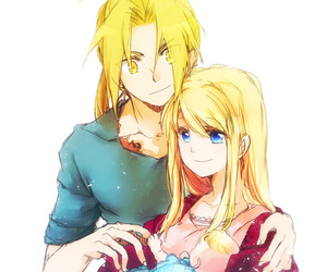 anime, couple, and Full Metal Alchemist image