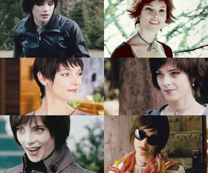 alice cullen, ashley greene, and little image