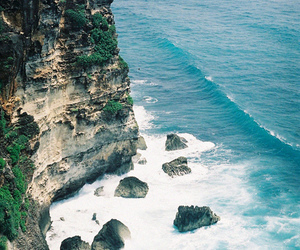 ocean, nature, and rock image