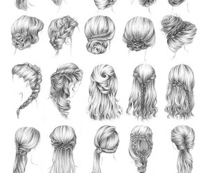 beautiful, hairstyles, and nice image