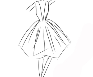 ball, ballgown, and draw image
