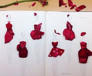 design, fashion, and flower image