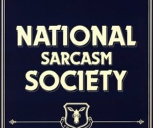 funny, quote, and sarcasm image